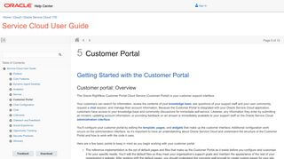 Rightnow Customer Portal