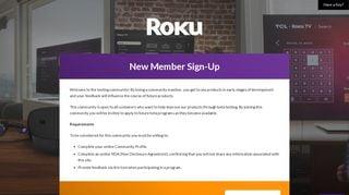 Roku Testing Portal