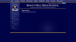 Rooty Hill High School Student Portal