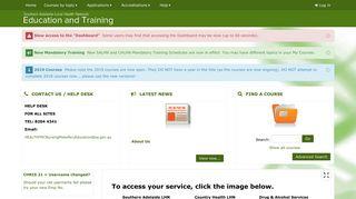 Sa Health Online Training Portal
