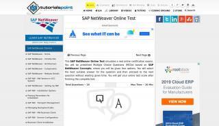 Sap Netweaver Portal Test