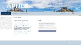 Uni Potsdam Studienplatz Portal
