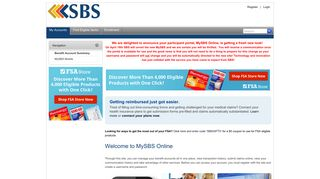 Sbs Online Portal