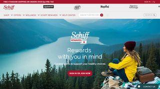 Schiff Loyalty Rewards Login