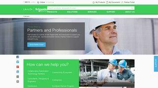 Schneider Electric Partner Portal