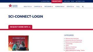 Sci Student Portal