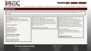 Scott Student Portal