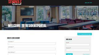 Seminole Grand Resident Portal