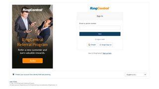 Service Ringcentral Com Admin Portal