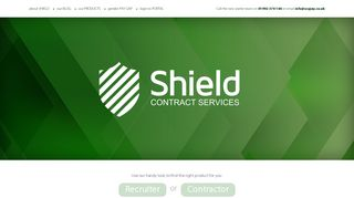 Shield Contract Services Portal