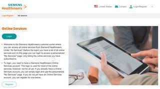 Siemens Healthcare Partner Portal