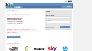 Siemens Mitarbeiter Angebote Portal