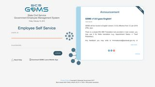 Sifbas Staff Self Service Login