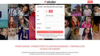 Sinder1 Login