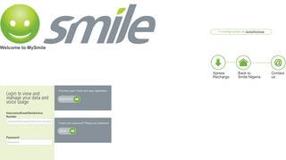 Smile Customer Portal