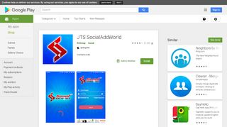 Social Add World Login To Website