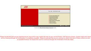Sodexo Self Service Portal