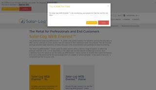 Solar Log Portal