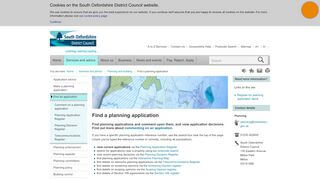 South Oxfordshire Planning Portal