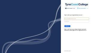 South Tyneside College Portal