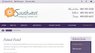 Southwest Contemporary Women's Care Patient Portal Login