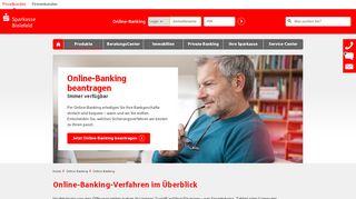 Sparkasse Bielefeld Online Banking Portal