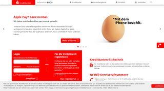 Sparkasse Kreditkarte Portal