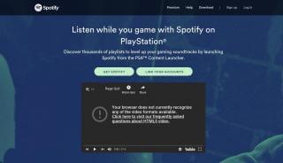 Spotify Gaming Portal