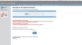 Spring Contractor Portal