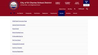 St Charles Parent Portal