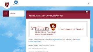 St Peters Community Portal