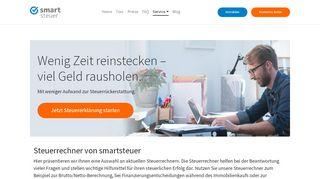 Steuerrückzahlung Portal
