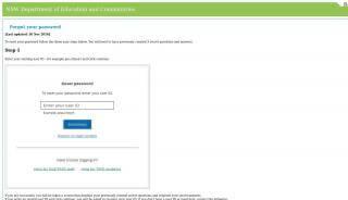 Student Portal Forgot Password