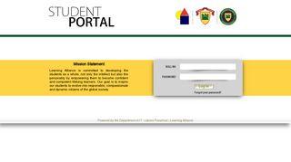Student Portal Learning Alliance