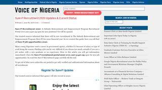 Sure P Recruitment Portal