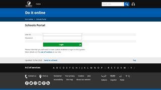 Surrey County Council Portal