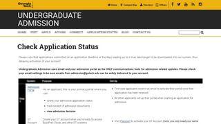 Tech Admission Portal