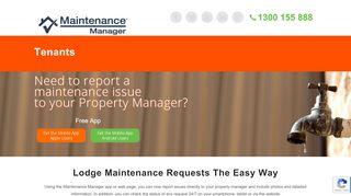 Tenant Web Portal