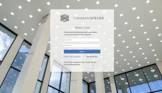Tishman Speyer Tenant Portal