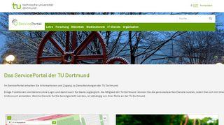 Tu Dortmund Service Portal