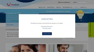 Tui Travel Recruitment Portal