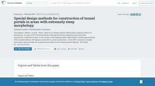 Tunnel Portal Design