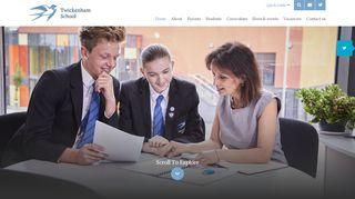 Twickenham Academy Learning Portal