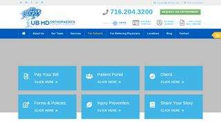 Ub Orthopedics Patient Portal