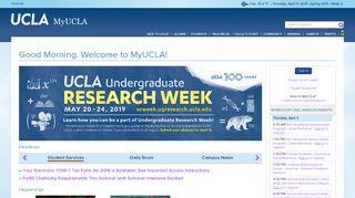 Ucla Student Portal