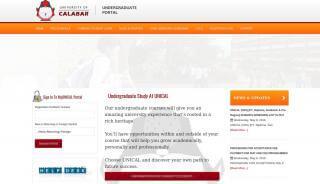 Unical Undergraduate Portal