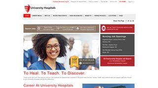 University Hospitals Job Portal