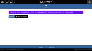 University Of Lincoln Staff Portal