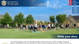 University Of Tulsa Student Portal
