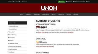 Unoh Student Portal